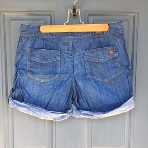 Lucky Brand by Gene Montesano Distressed Shorts